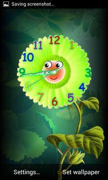 Analog Clock with Eyes - LWP screenshot 1