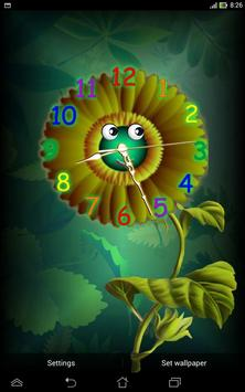 Analog Clock with Eyes - LWP screenshot 7