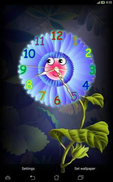 Analog Clock with Eyes - LWP screenshot 8