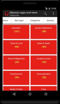 Albanian apps and tech news apk screenshot