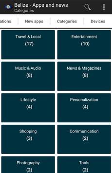 Belizean apps and tech news apk screenshot