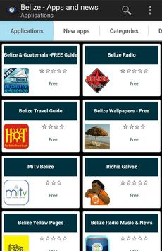 Belizean apps and tech news poster