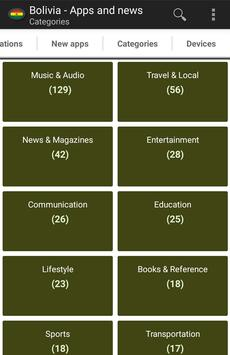 Bolivian apps and tech news apk screenshot