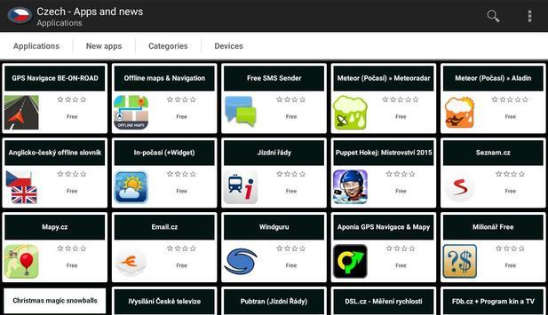 Czech apps and tech news apk screenshot