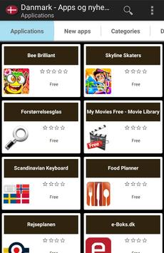 Danish apps and tech news poster