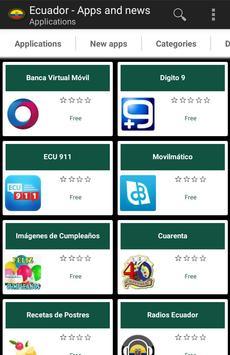 Ecuadorian apps and tech news poster