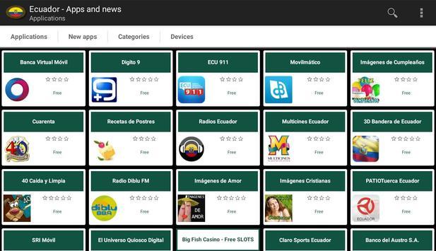 Ecuadorian apps and tech news apk screenshot