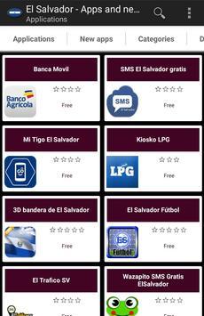Salvadoran apps and tech news poster