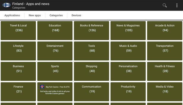 Finnish apps and tech news apk screenshot