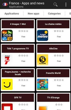 French apps and tech news poster