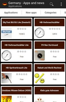 German apps and tech news poster