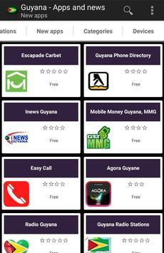 Guyanese apps and tech news apk screenshot