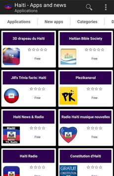 Haitian apps and tech news poster