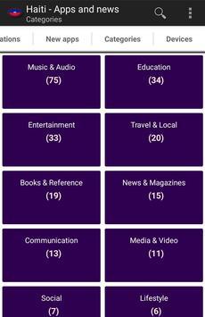 Haitian apps and tech news apk screenshot