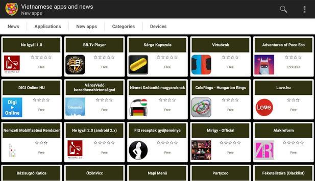 Hungarian apps and tech news apk screenshot