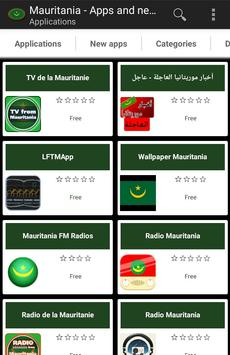 Mauritanian apps poster