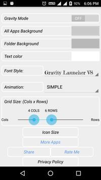 GRAVITY LAUNCHER VS apk screenshot