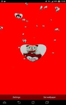 3D HEART PHOTO LWP apk screenshot