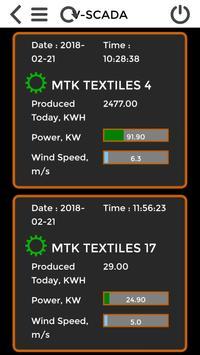 V -SCADA Windmill iOT Real time energy data apk screenshot