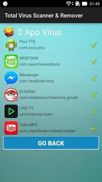 Total Virus Scanner & Remover apk screenshot