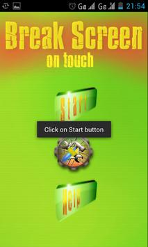 BREAK SCREEN ON TOUCH apk screenshot