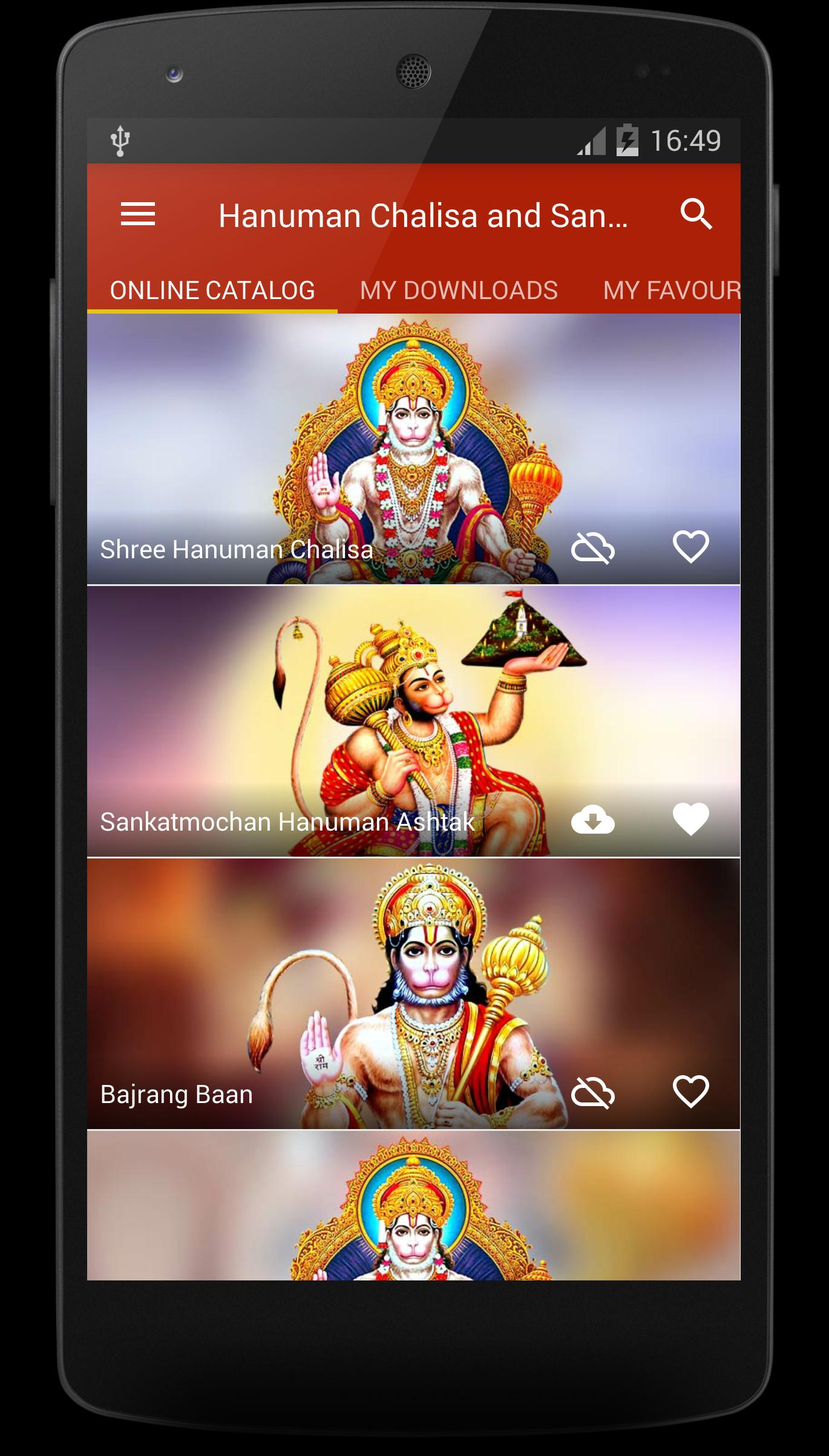 Hanuman Chalisa and Sangrah for Android - APK Download