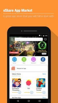 vShare App Market - App Store poster