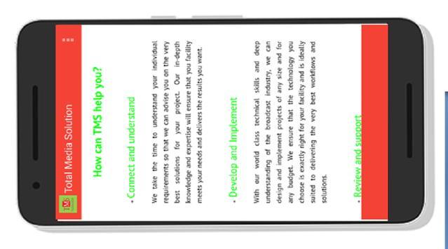Total Media Solutions screenshot 1