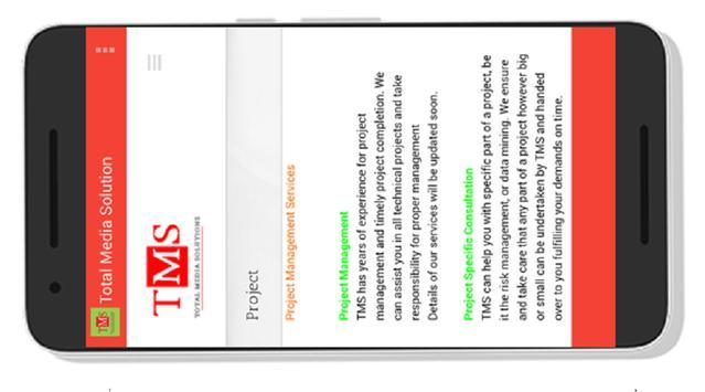 Total Media Solutions screenshot 2