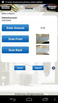 AFCU Check Deposit apk screenshot