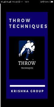 throw technique poster