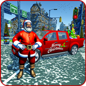 Santa Christmas Rush Gift Delivery: Gift Game icon