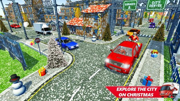 Santa Christmas Rush Gift Delivery: Gift Game screenshot 4