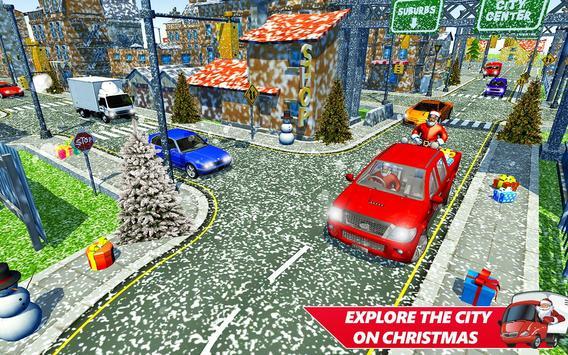 Santa Christmas Rush Gift Delivery: Gift Game poster