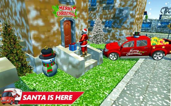Santa Christmas Rush Gift Delivery: Gift Game screenshot 1