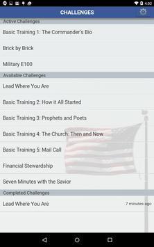 Military Bible Challenge apk screenshot