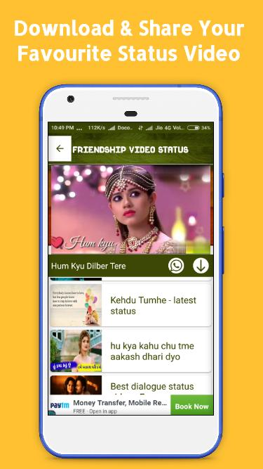 Friendship Video Status for Android - APK Download