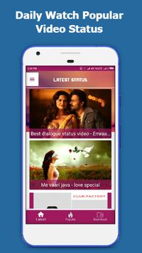 Romentic Video Status - Video Status For Whatsapp screenshot 6