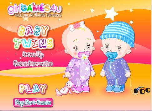 Dress up girls children poster