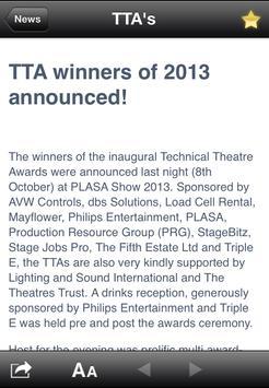 TTAs screenshot 1