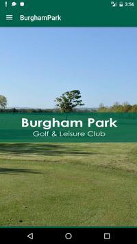 Burgham Park Golf Club poster