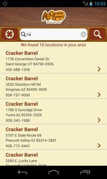 Cracker Barrel apk screenshot