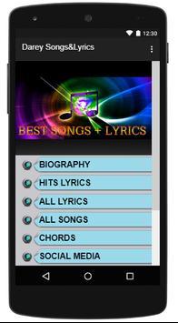 Darey Songs&Lyrics poster