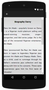 Darey Songs&Lyrics screenshot 1