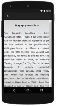 Aaradhna Songs&Lyrics. screenshot 1