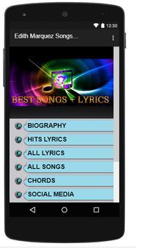 Edith Marquez Songs&Lyrics. poster