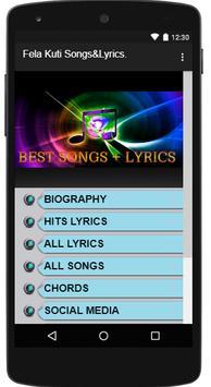 Fela Kuti Songs & Lyrics  for Android - APK Download