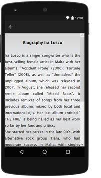 Ira Losco Songs&Lyrics. apk screenshot
