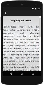 Ben Rector Songs&Lyrics. apk screenshot