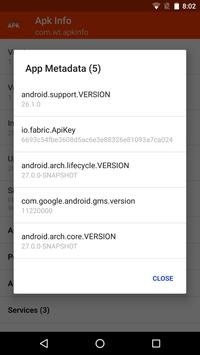 Apk Info screenshot 1